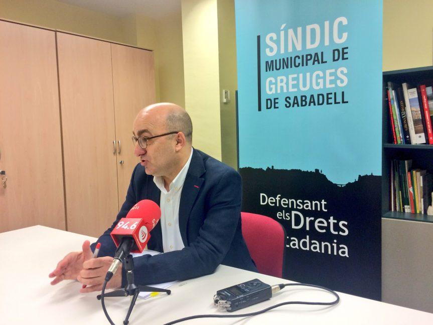 Els ciutadans de Sabadell presenten un 12% més de queixes davant el Síndic Municipal de Greuges durant el 2015